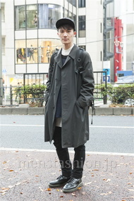 ファッションコーディネート原宿・表参道 2013年12月 山本健斗さん