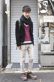 ファッションコーディネート原宿・表参道 2013年12月 わたむん。さん