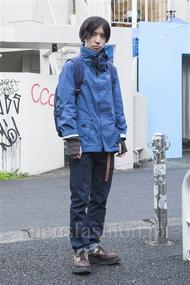ファッションコーディネート原宿・表参道 2013年12月 内田 遼さん