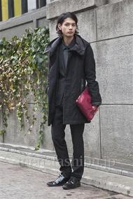 ファッションコーディネート原宿・表参道 2013年12月 藤木亮介さん