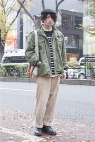 ファッションコーディネート原宿・表参道 2013年12月 加藤康貴さん