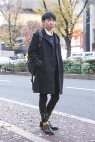 ファッションコーディネート原宿・表参道 2013年12月 せいいちろうさん