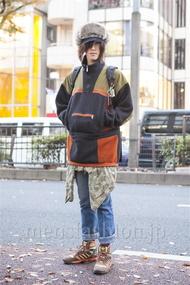 ファッションコーディネート原宿・表参道 2013年12月 北向達也さん