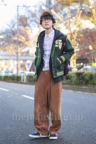 ファッションコーディネート原宿・表参道 2013年12月 浦辻大奨さん