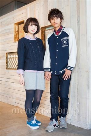 名前: 梶本祥平さん年齢: 21歳職業: 学生今、身に着けている服・アクセサリーのブランドは: ジャケット: コンバース/古着屋/¥5,000  シャツ: 古着屋/忘れた