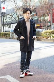 ファッションコーディネート原宿・表参道 2014年01月 松田亮葉さん
