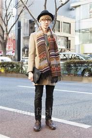 ファッションコーディネート原宿・表参道 2014年01月 中島和樹さん