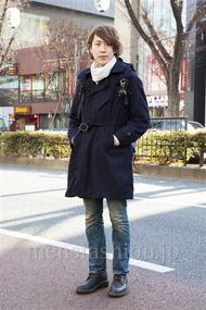 ファッションコーディネート原宿・表参道 2014年01月 宮下佳佑さん