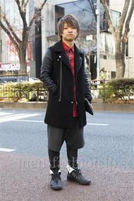 ファッションコーディネート原宿・表参道 2014年01月 鈴木 駿さん