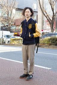 ファッションコーディネート原宿・表参道 2014年01月 松金祐大さん