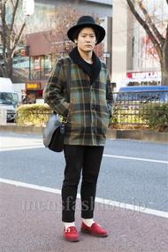 ファッションコーディネート原宿・表参道 2014年01月 藤原朋哉さん