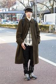 ファッションコーディネート原宿・表参道 2014年01月 マサノリさん