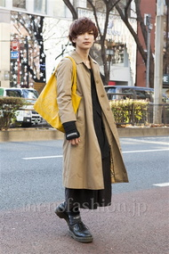 ファッションコーディネート原宿・表参道 2014年01月 岡 毅さん