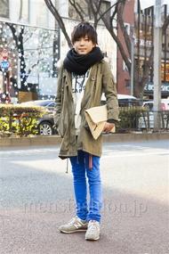 ファッションコーディネート原宿・表参道 2014年01月 加藤雄大さん