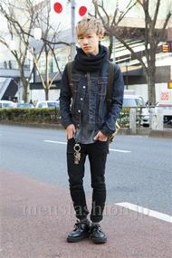 ファッションコーディネート原宿・表参道 2014年01月 わたむん。さん