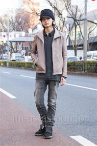 ファッションコーディネート原宿・表参道 2014年01月 藤木亮介さん
