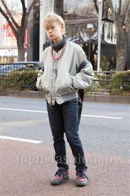 ファッションコーディネート原宿・表参道 2014年01月 アンドウコウイチさん