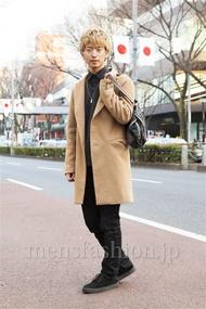 ファッションコーディネート原宿・表参道 2014年01月 品川 翔さん