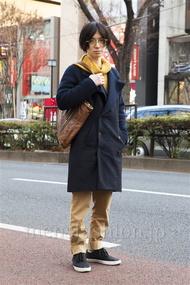 ファッションコーディネート原宿・表参道 2014年01月 内田 遼さん