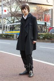 ファッションコーディネート原宿・表参道 2014年01月 長坂睦生さん