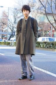 ファッションコーディネート原宿・表参道 2014年01月 梶本祥平さん
