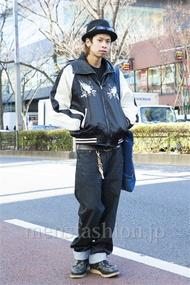 ファッションコーディネート原宿・表参道 2014年01月 石田直輝さん