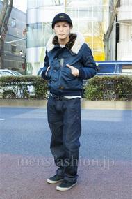 ファッションコーディネート原宿・表参道 2014年01月 中沢和貴さん
