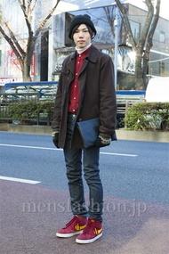 ファッションコーディネート原宿・表参道 2014年01月 鈴木誠希さん