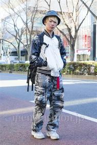ファッションコーディネート原宿・表参道 2014年01月 高橋佑誠さん