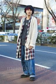 ファッションコーディネート原宿・表参道 2014年01月 高橋直斗さん