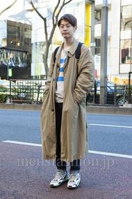 ファッションコーディネート原宿・表参道 2014年01月 斎藤章平さん