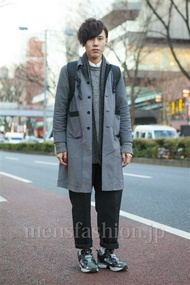 ファッションコーディネート原宿・表参道 2014年01月 原田浩一さん