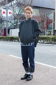 ファッションコーディネート原宿・表参道 2014年02月 真弓和樹さん