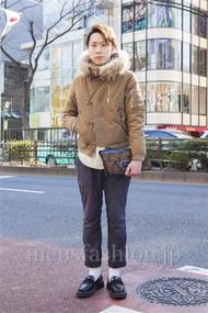 ファッションコーディネート原宿・表参道 2014年02月 宮下佳佑さん