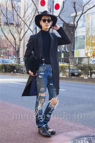 ファッションコーディネート原宿・表参道 2014年02月 くろさん