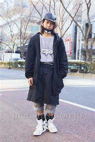 ファッションコーディネート原宿・表参道 2014年02月 はらペコさん