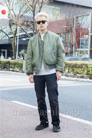 ファッションコーディネート原宿・表参道 2014年02月 中澤卓也さん