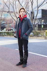 ファッションコーディネート原宿・表参道 2014年02月 木村允人さん