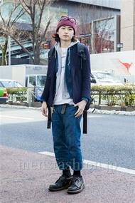 ファッションコーディネート原宿・表参道 2014年02月 ダイチさん
