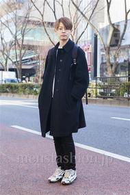 ファッションコーディネート原宿・表参道 2014年02月 斎藤章平さん