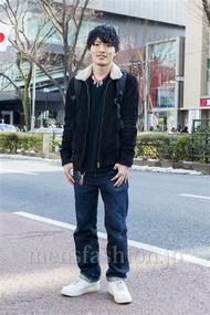 ファッションコーディネート原宿・表参道 2014年02月 大河光太朗さん
