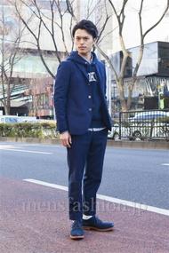 ファッションコーディネート原宿・表参道 2014年02月 青山清志さん