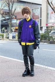 ファッションコーディネート原宿・表参道 2014年02月 夏川登志郎さん