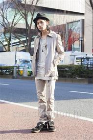 ファッションコーディネート原宿・表参道 2014年02月 藤木亮介さん