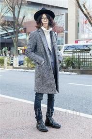 ファッションコーディネート原宿・表参道 2014年02月 若月智也さん