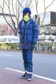 ファッションコーディネート原宿・表参道 2014年02月 北向達也さん