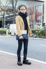 ファッションコーディネート原宿・表参道 2014年02月 wataさん