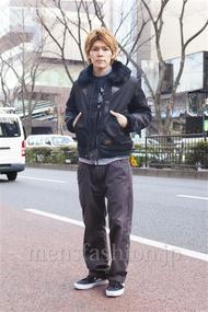 ファッションコーディネート原宿・表参道 2014年02月 中沢和貴さん