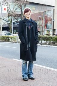 ファッションコーディネート原宿・表参道 2014年02月 峰田大暉さん