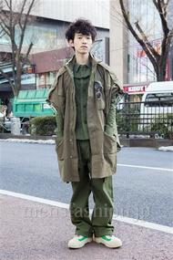 ファッションコーディネート原宿・表参道 2014年02月 浦辻大奨さん
